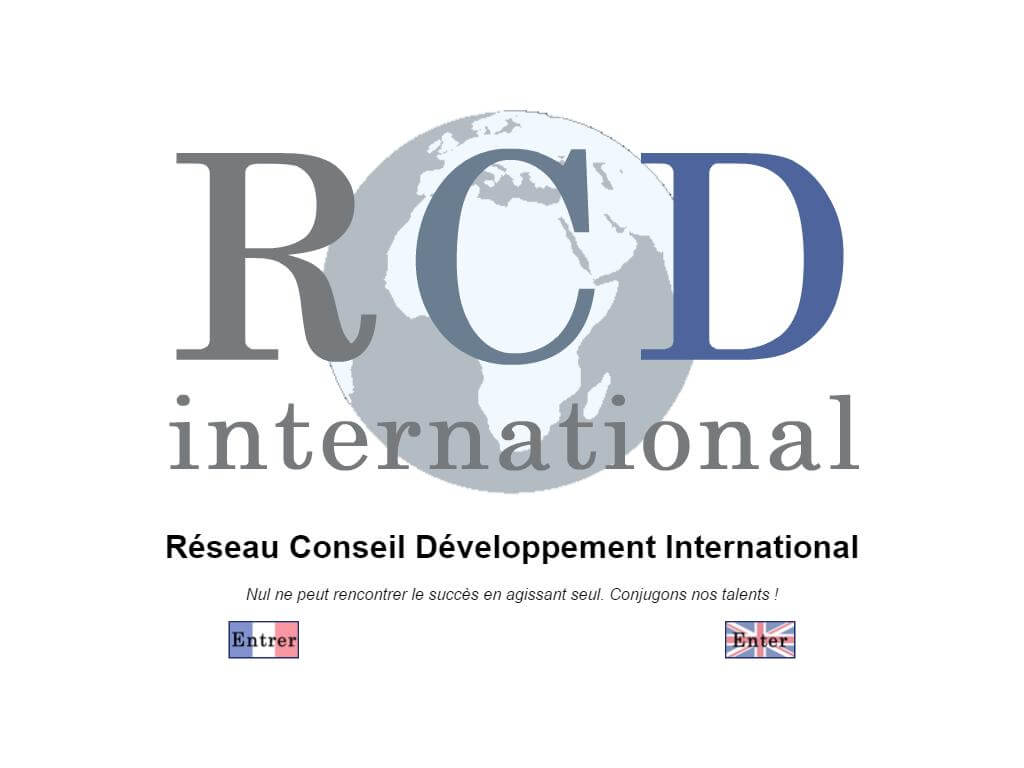 Logo de RCD International
